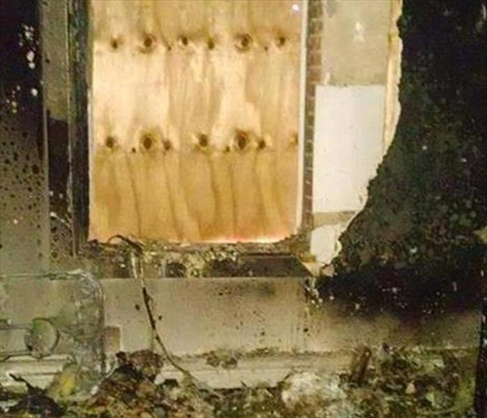 Fire-Ravaged Home in Stockton Relies on SERVPRO Before