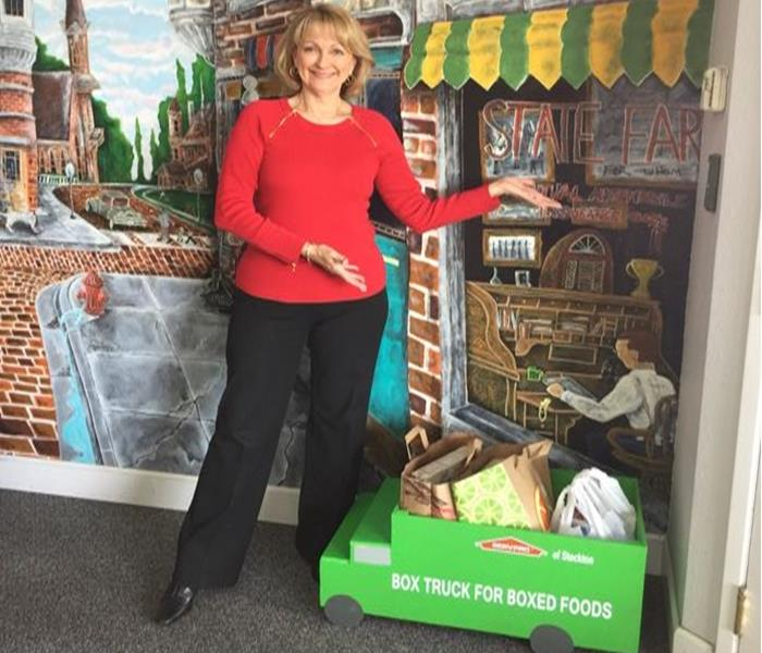 The Annual Greater Stockton Food Bank Drive