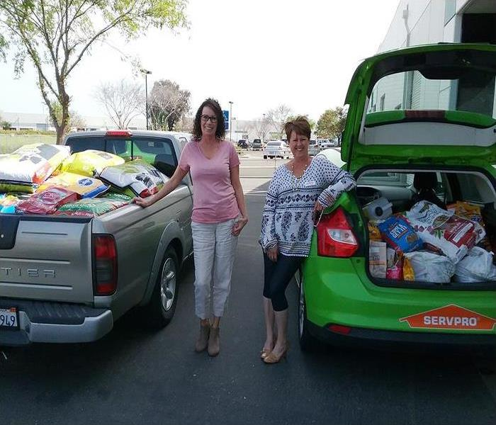 SERVPRO of Stockton Pet Food Drive Event