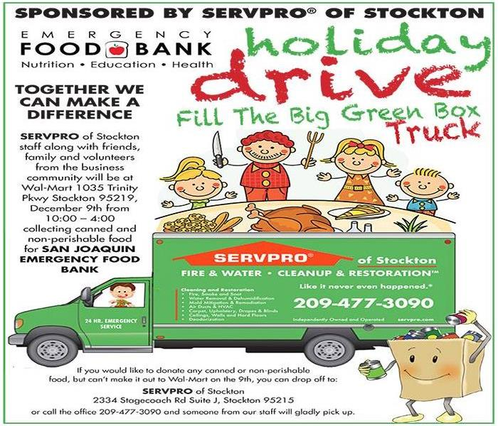 Holiday Food Drive For San Joaquin Emergency Food Bank