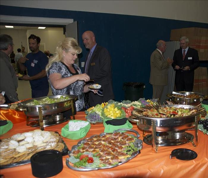 The American Red Cross Mix and Mingle Dinner at SERVPRO
