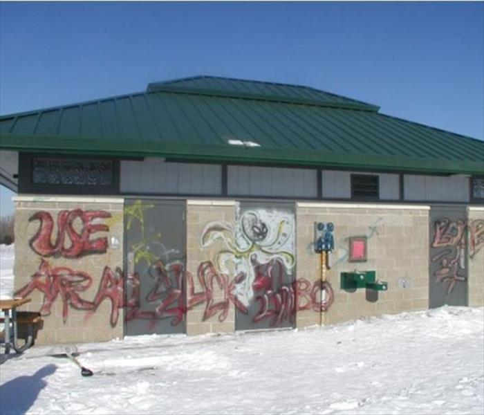 SERVPRO of Stockton Specializes in Graffiti Removal