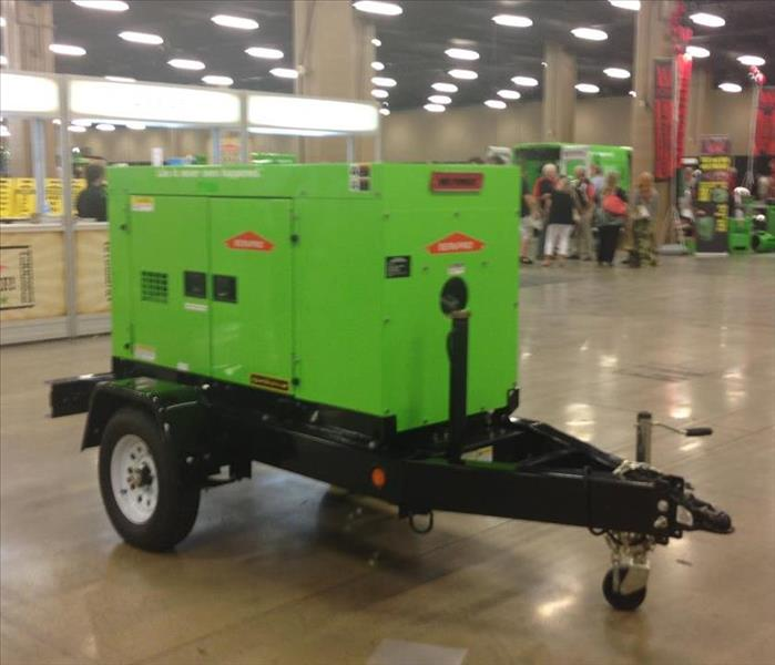 Portable trailer mounted generator