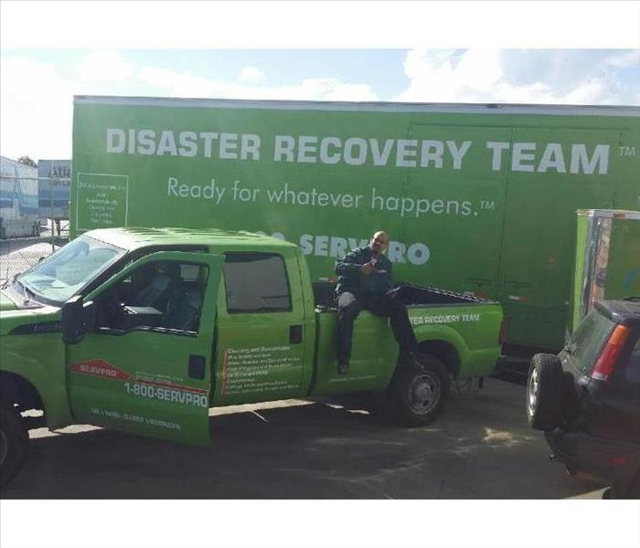Storm Damage SERVPRO Battles Storm Damage in Stockton Properties to Mitigate Losses