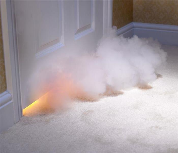 Fire Damage Stockton Fire Mishap? SERVPRO Can Make It Right!