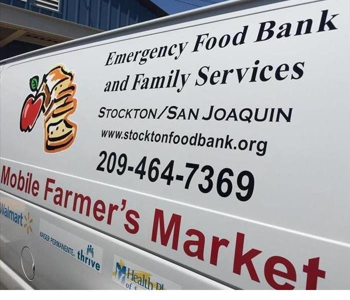 Community BBQ Event at the Stockton Food Bank